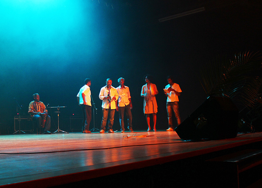 Autores no palco